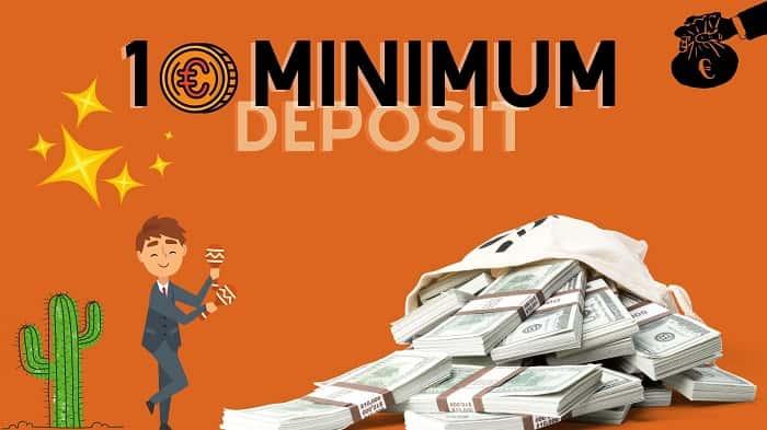 1 euro minimo depósito casino