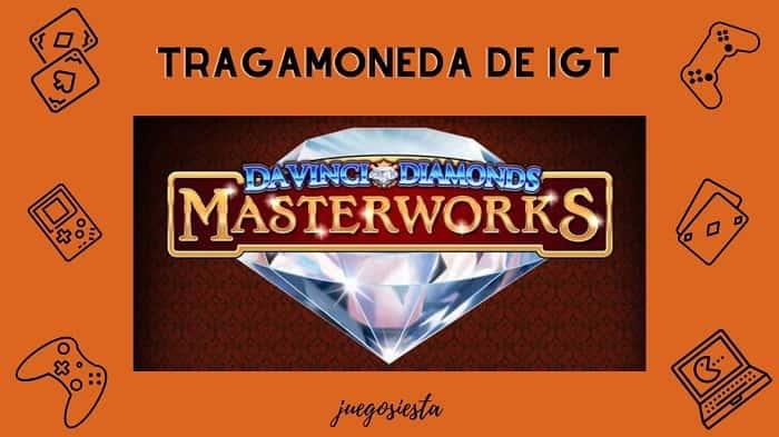 davinci diamonds masterworks igt