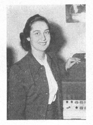 La Srta. Eleanor Krawitz
