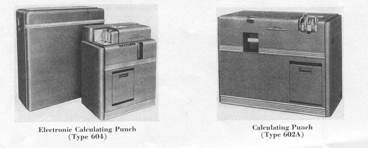 El Perforador de Cálculo Electrónico