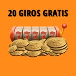 20 giros gratis